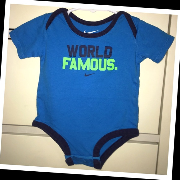 Nike Other - Nike 3-6m baby boy onesie💙EUC💙